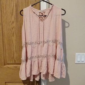 Forever 21 muted pink tank
